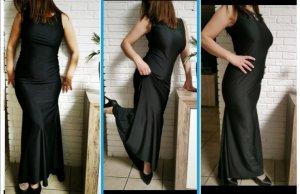 Tolles Kleid Abendkleid Blogger style schwarz sexy NEU  Gr 38 M