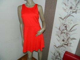 Tolles rotes Shirt Kleid Größe 42 von H&M (H17)