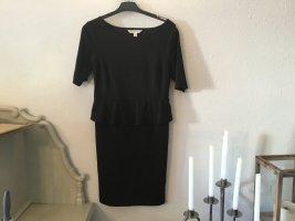Studio Sukienka z baskinką czarny