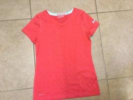 Nike Maglietta sport arancio neon-rosso