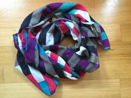 Pieces Foulard multicolore coton