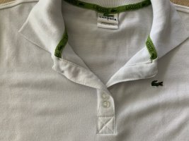 Tolles weißes Lacoste Polo Shirt Gr. S
