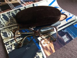 Tom Ford Glasses black brown-bronze-colored acetate
