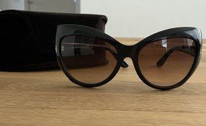 Tom Ford Gafas mariposa marrón-negro