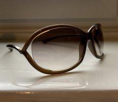 Tom Ford Ovale zonnebril bruin