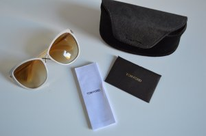 Tom Ford Glasses gold-colored synthetic material