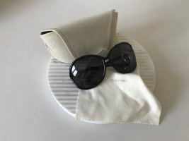 Tom Ford Ronde zonnebril zwart-goud