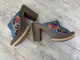 Tom Tailor Denim Sandalo con tacco multicolore