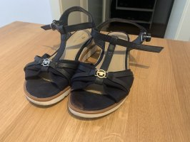 Tom Tailor Clog Sandals dark blue