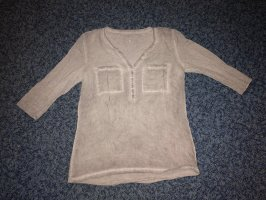 Tom Tailor Empiècement de blouses gris