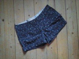 Tom Tailor Denim Damen Shorts Hotpants dunkelblau gemustert Gr.29 Top