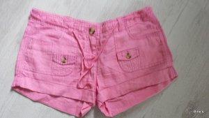 Tom Tailor Denim Leinen Rosa Short Bermuda Hotpants