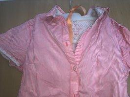 Tom Tailor Hemdbluse Pink Gestreift-Größe 36-Preis VB