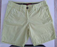 Tom Tailor Denim Shorts lime yellow