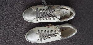 Tom tailor Sneaker Schuhe Gr 40 weiß silber