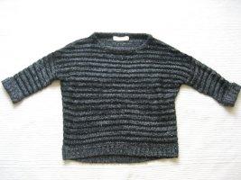 Tom Tailor Crewneck Sweater black-dark grey