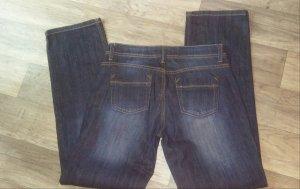 Tom Tailor Denim Pantalone cinque tasche blu-blu scuro Cotone