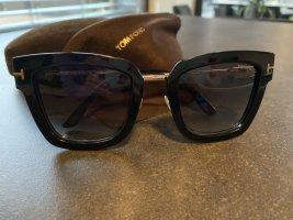 Tom Ford Gafas negro-color oro acetato