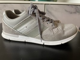Tommy Hilfer Sneaker Schuhe grau Silber 39,4 40