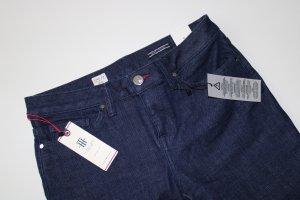 Tommy Hilfiger Denim Jeansy z prostymi nogawkami ciemnoniebieski