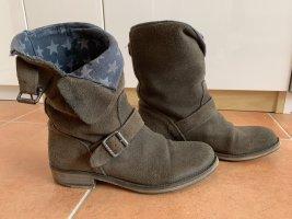 Tommy Hilfiger Boots Stiefel Stiefeletten Wild Leder