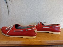 Tommy Hilfiger Zapatos brogue rojo