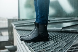 Tommy Hilfiger Chelsea Boots schwarz Casual-Look
