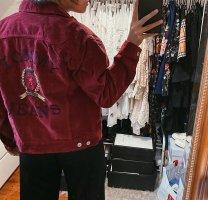 Tommy Hilfiger Cord Jeansjacke Jacke rot Capsule vintage retro 90