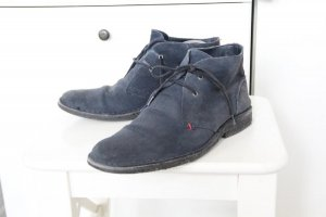 Tommy Hilfiger Desert Boots dark blue leather
