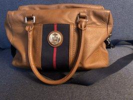 Tommy Hilfiger Handtasche ,cognac , Leder