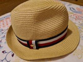 Tommy Hilfiger Panama hoed zandig bruin