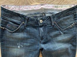 Tommy Hilfiger Denim Jeansy z prostymi nogawkami błękitny-chabrowy