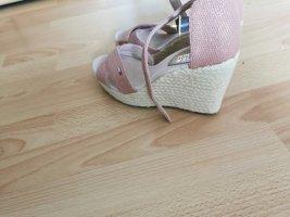 tommy hilfiger keilabsatz sandaletten rose neu