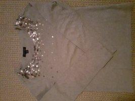 Tommy Hilfiger Długa koszulka srebrny Bawełna