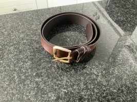 Tommy Hilfiger Leather Belt bronze-colored-gold-colored leather