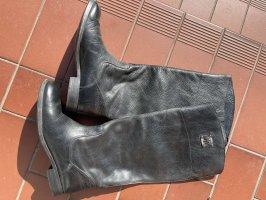Tommy Hilfiger Bottes à l'écuyère noir cuir