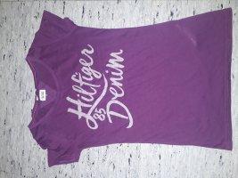 Tommy Hilfiger lila Shirt xs 34 neuwertig