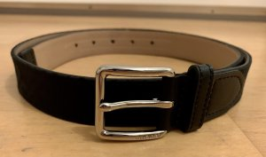 Tommy Hilfiger Faux Leather Belt black-silver-colored