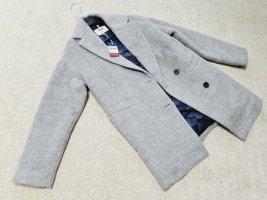 Tommy Hilfiger Mantel aus Wolle in grau Gr. XS