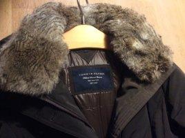 Tommy Hilfiger Abrigo de plumón negro poliamida