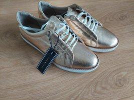 Tommy Hilfiger Basket à lacet doré cuir