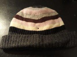 Tommy Hilfiger Chapeau en tricot multicolore laine
