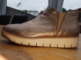 Tommy Hilfiger Plateau Boots Gr.40 bronze