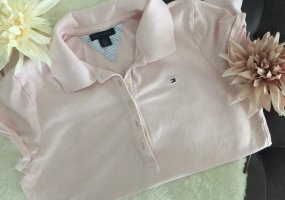 ⭐️ TOMMY HILFIGER Poloshirt T-Shirt Damen / Gr. M / rosa