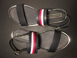 Tommy Hilfiger T-Strap Sandals multicolored