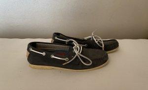 Tommy Hilfiger Zapatos de marinero azul oscuro
