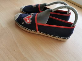 Tommy Hilfiger Pantofola rosso-blu scuro