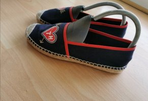 Tommy Hilfiger Pantoffels rood-donkerblauw