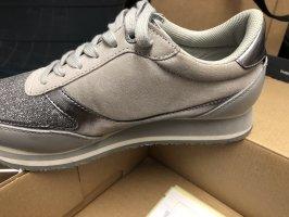 Tommy Hilfiger Sneaker alta grigio-argento
