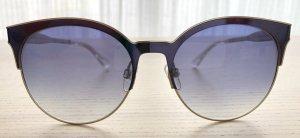 Tommy Hilfiger Okulary motylki ciemnoniebieski Metal